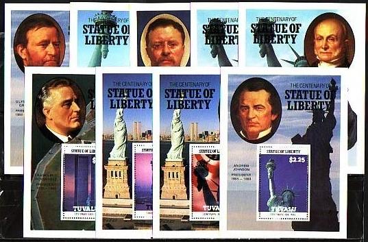 statue of liberty las vegas stamp. statue of liberty stamp las